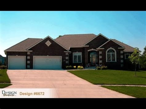 one story homes design 6672 the bayberry traditional styled 1 story house plan from design basics home plans