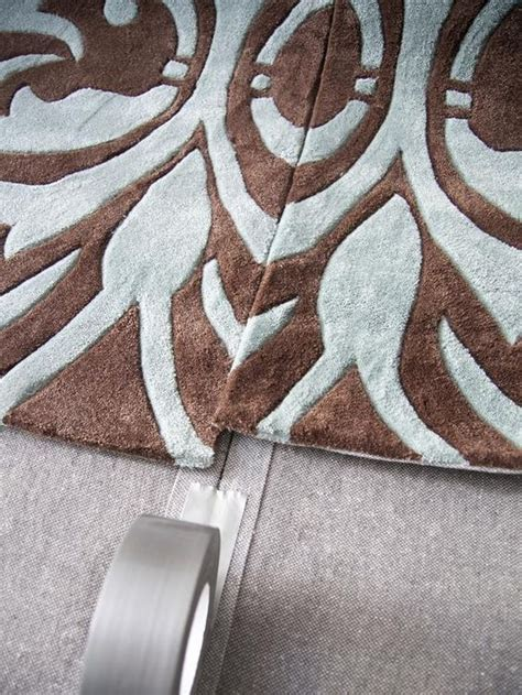 Make An Area Rug How To Make One Large Custom Area Rug From Several Small Ones Gardens Duct And Living Rooms