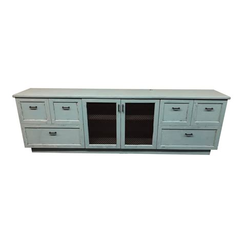 shabby chic media cabinet media console cabinet in shabby chic finish design