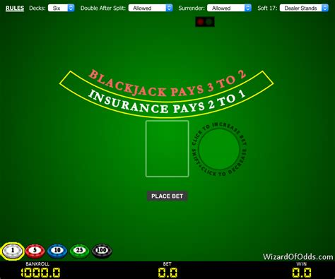 blackjack odds table best blackjack table odds vegas