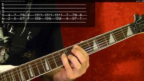tutorial guitar metal power chords heavy metal for beginners guitar lesson