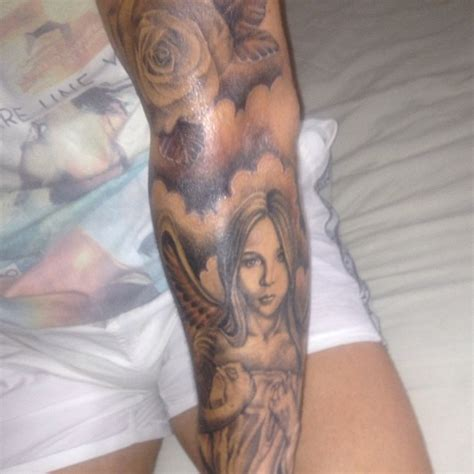 tattoo angel clouds angel tattoos and designs page 200