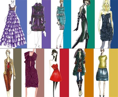 The Color Of Fashion color is it a pattern for fashion design today la