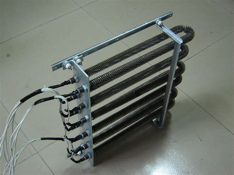 electric fan pipe drying equipment radiator radiating pipe finned