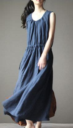 Dress Misha Maxi Navy Ori Glz black layered linen dress summer maxi dresses sundress sleeveless color patchwork