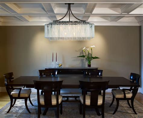 dining room chandelier ideas large rectangular chandelier goenoeng