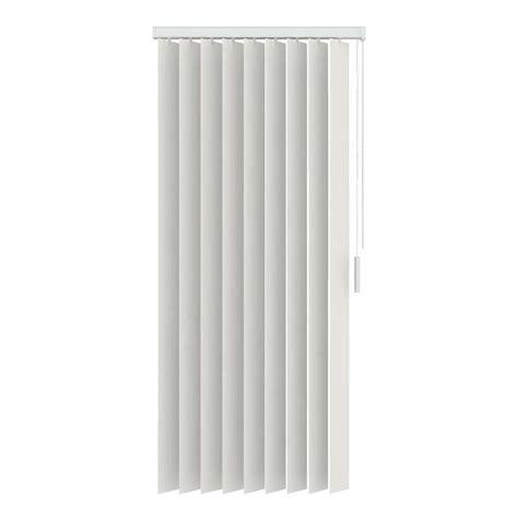 verticale lamellen pvc verticale lamellen pvc verduisterend 89 mm gebroken wit
