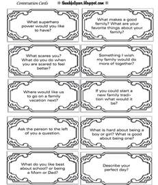 dinner conversation starters cards 1000 images about with the conversation