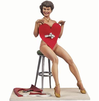 pin up valentines images michigan soldier company andrea miniatures andrea