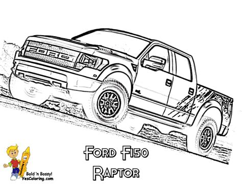 American Pickup Truck Coloring Sheet Free Truck Ford Coloring Pages