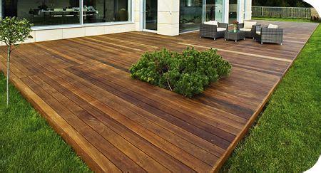 ground level deck  cutout exterior pinterest
