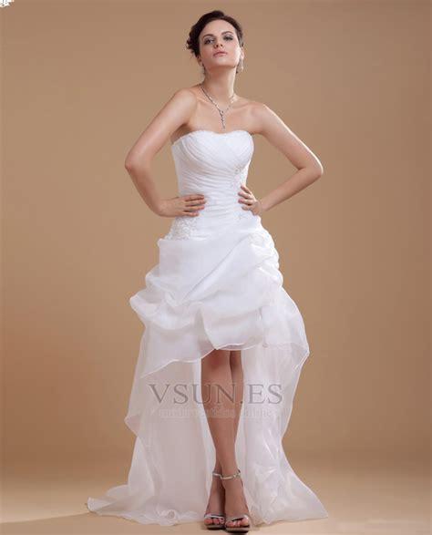 Wedding L by Vestido De Novia Informales Asim 232 Trico Falta Blanco