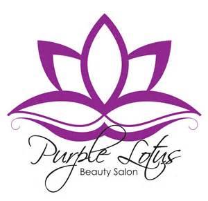 Lotus Hair Salon Purple Lotus Salon Collateral V Ink