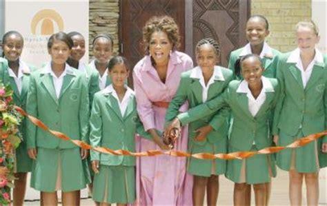 Oprah Opens Second School In Africa by L 233 Cole Sud Africaine D Oprah Winfrey Fait Scandale