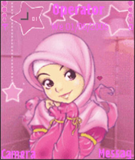 gif themes mobile muslim girl v 2 mobile themes for nokia n gageqd
