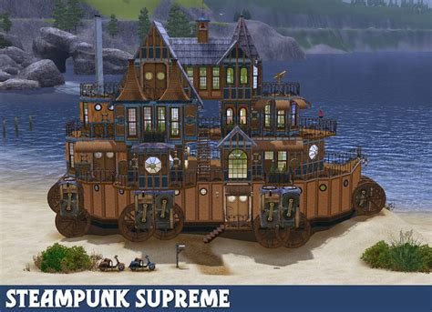 Houses With 5 Bedrooms mod the sims steampunk supreme