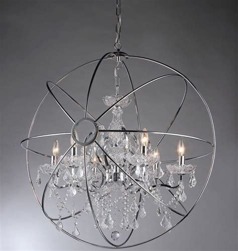 chrome orb chandelier chandelier astounding chrome orb chandelier large chrome