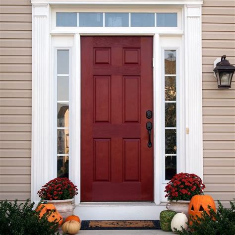 color interior rojo carmes las 25 mejores ideas sobre puertas delanteras rojas en