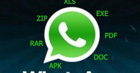 format video support whatsapp how to send zip rar apk exe pdf ppt xls files in