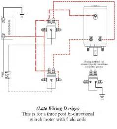 ramsey winch wiring diagram images