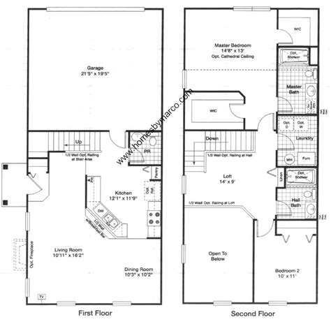 28 mercedes homes floor plans 2006 2005 maronda