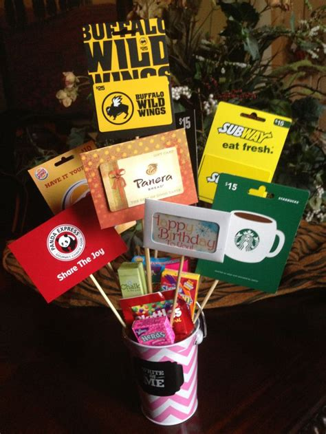 Birthday Cards And Gifts - 78 ideas about gift card bouquet on pinterest gift card basket gift card