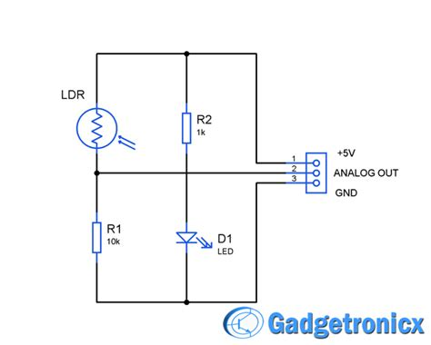 sensor resistor circuit how to build a simple sensor module by your own gadgetronicx