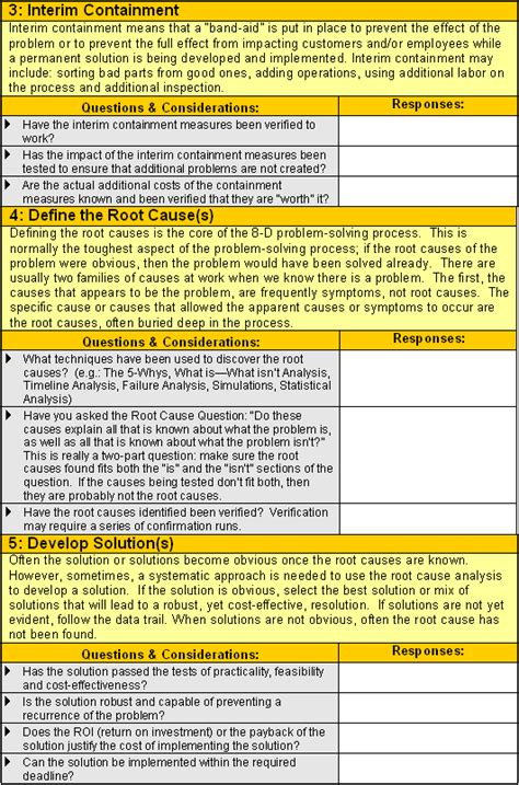 8d report template 8d worksheet qualitytrainingportal 8d