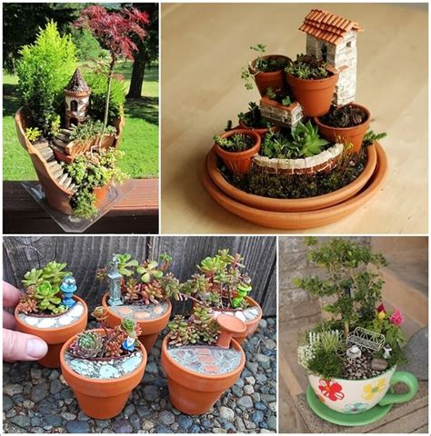 16 Creative Miniature Garden Ideas You Will Admire Mini Garden Ideas