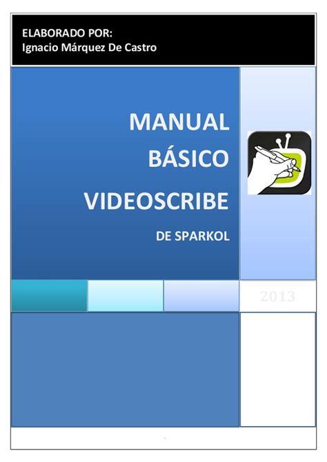 videoscribe anywhere tutorial manual videoscribe