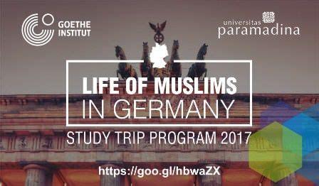Dvd Panduan Beasiswa Luar Negeri Beasiswa Jerman studi trip gratis ke jerman bagi pemuda i muslim di indonesia oleh goethe institut indbeasiswa