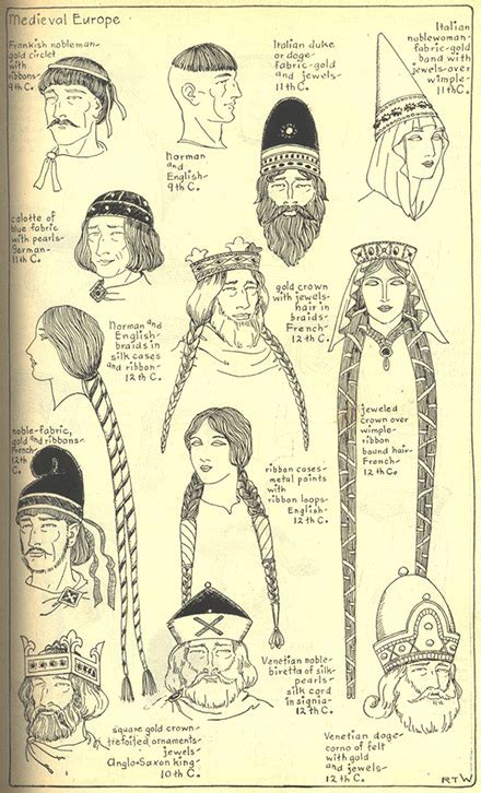 hair of the middle ages history of hats gallery chapter 7 village hat shop