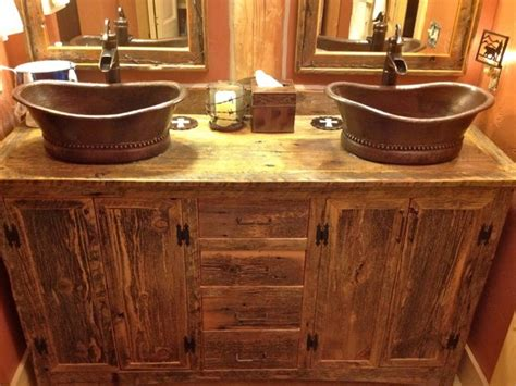 rustic sinks bathroom rustic bathroom vanities compliment many design styles see le bathroom decorating ideas