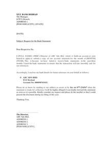 the following sample bank account verification letter