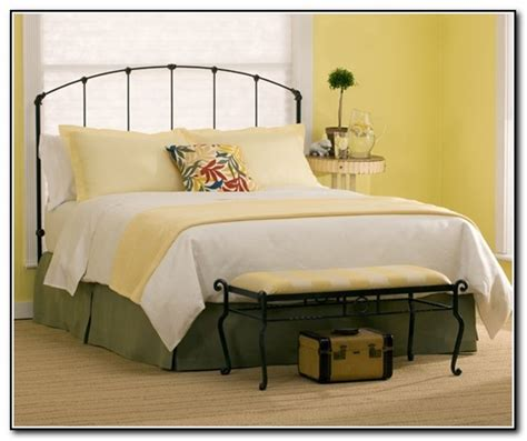 metal bed frame headboard and footboard metal headboard and footboard oakland queen size bronze