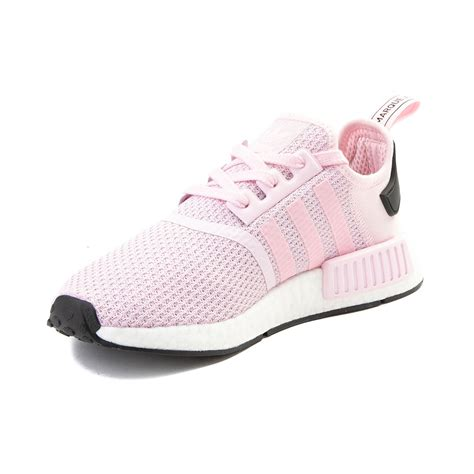 womens adidas nmd r1 athletic shoe pink 436695