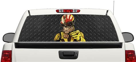 five finger death punch decal product five finger death punch skull rear window decal