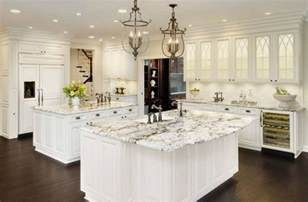 White Kitchen Granite Ideas White Ice Granite White Cabinets Backsplash Ideas