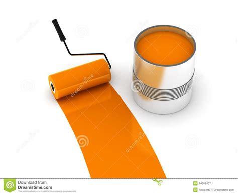 orange paint orange paint royalty free stock photography image 14368407