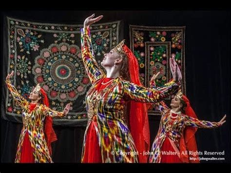 uzbek dance dilhiroj дилхирож performed by silk road dance