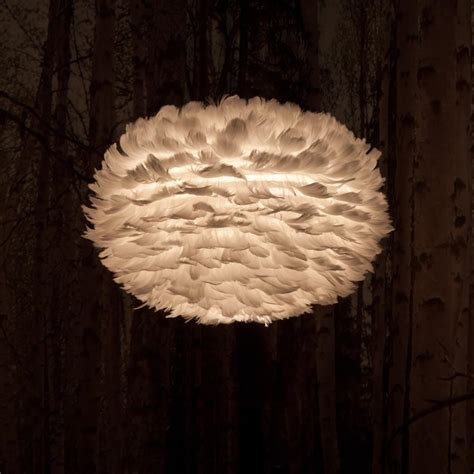 Feathers Ceiling by Vita Copenhagen Eos Feather Ceiling Pendant Light Shade