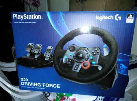 volante ps3 volante logitech g29 driving ps4 ps3 pc pronta