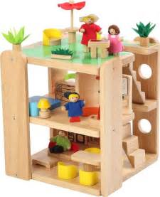 wooden dolls house nz bebabo wooden teeny doll house for children auckland new zealand