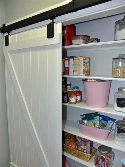 Design Ideas For Kitchen Pantry Doors Diy Barn Door For Pantry