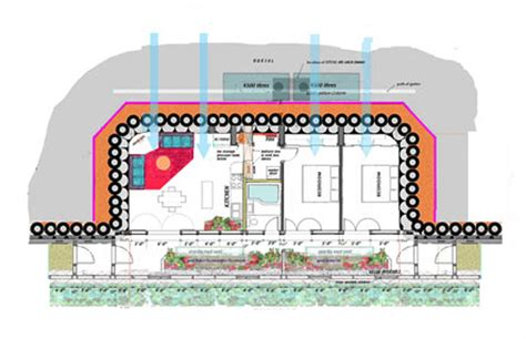 earthship floor plans earthship plan