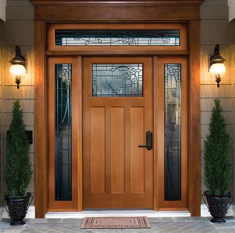 wooden front door wood exterior doors