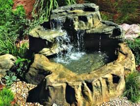 Backyard Ponds Kits Medium Preformed Patio Garden Ponds Amp Rock Waterfall Kits