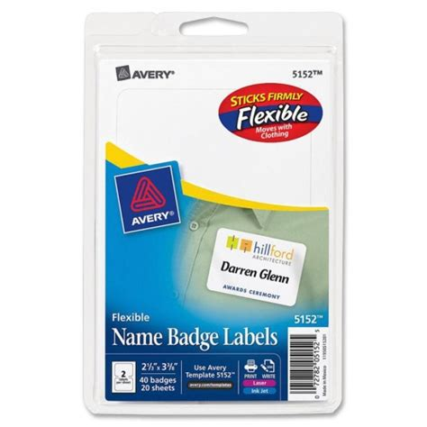 avery templates for name badge labels avery name badge label ave5152 shoplet com
