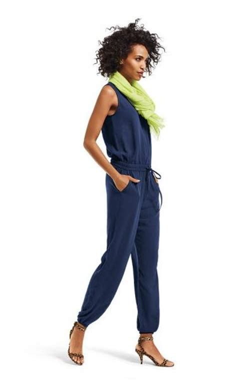 when does cabi summer line up 2015 nwt cabi french navy jumpsuit romper sz l large spring