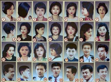 korea approved haircuts military approved haircuts for fashion under dictatorship another